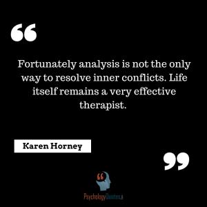 ~Karen Horney, psychology quotes