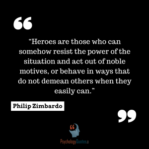Philip Zimbardo Quotes about heroes psychology quotes
