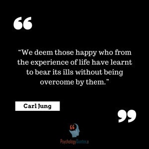 We deem those happy who from the experience of psychology quotes carl jung