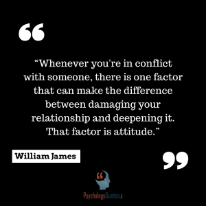 Whenever you're in conflict with someone.psychology quotespng